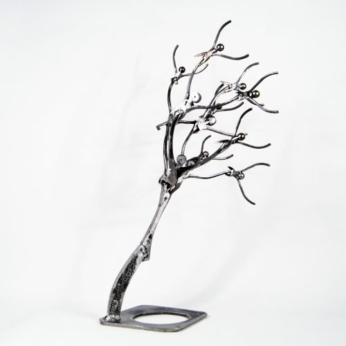 Contemporary art sculpture tree