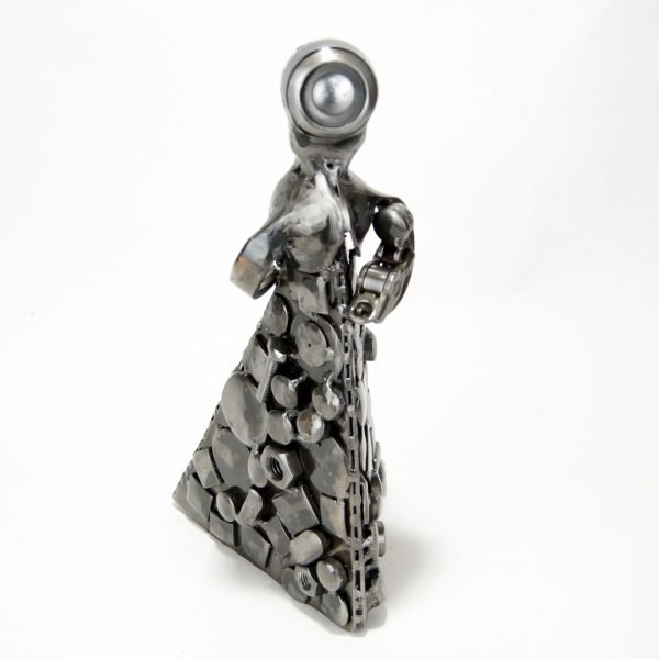 metal sculpture motherhood
