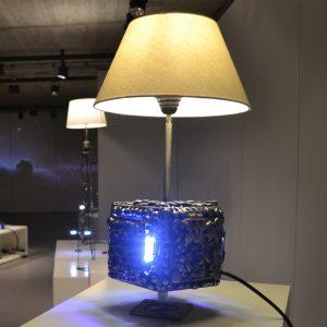Lamp metal sculpture