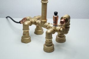 Industrial Pipe Dog Lamp