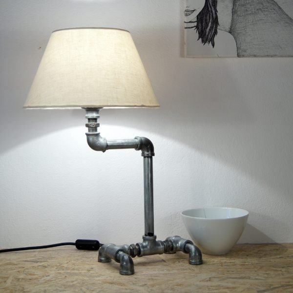 Plumbing pipe desk lamp KASAI OX