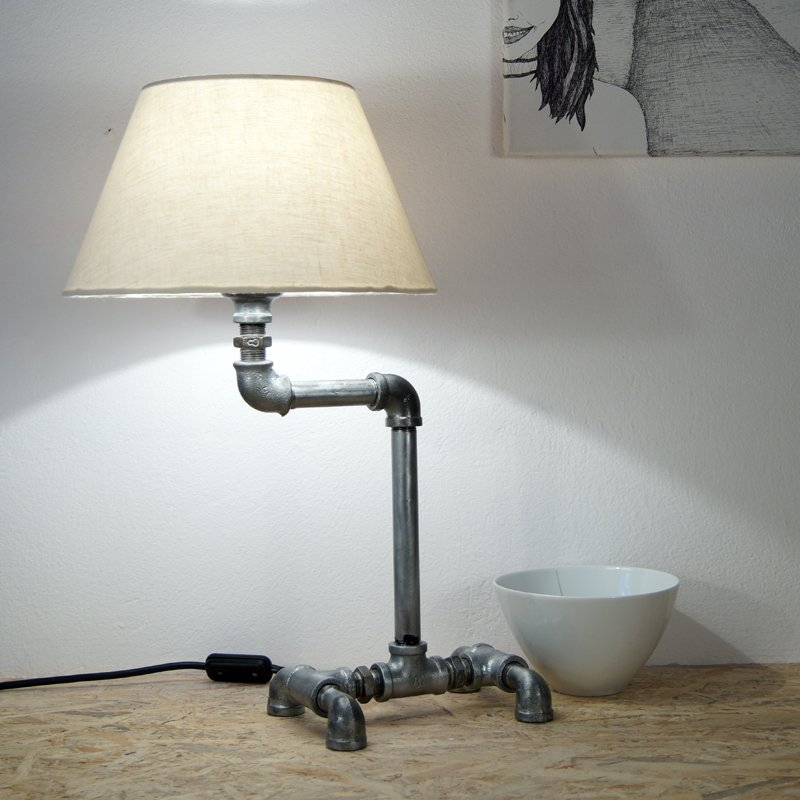 find and buy galvanized pipe lamp