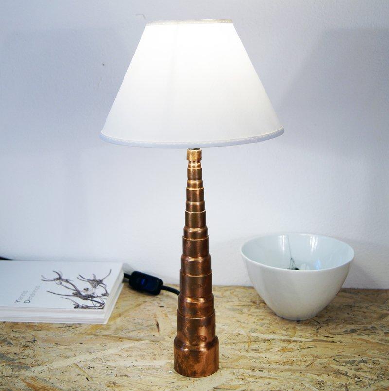 Copper pipe lamp Kinshasa