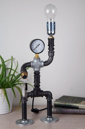 Robot desk lamp