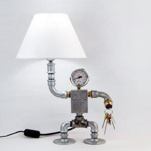 Robot pipe lamp MIBALI