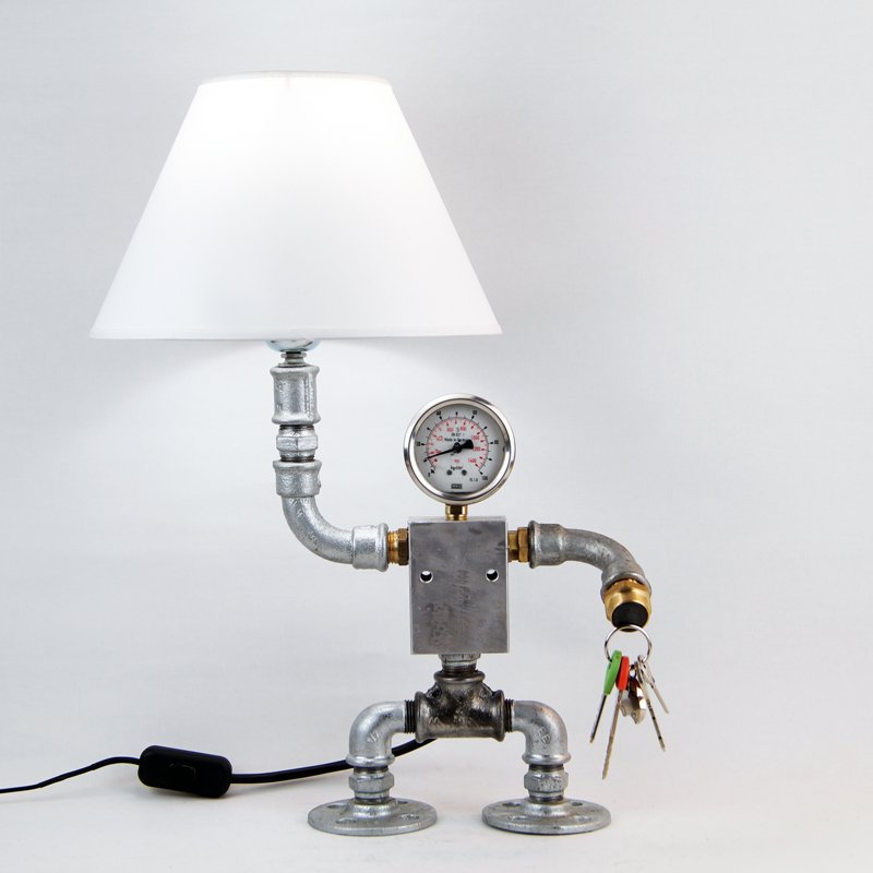 Buy amazing robot pipe lamp for Industrial pipe light socket