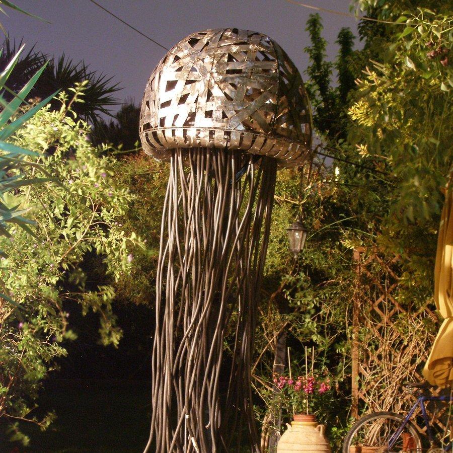 Γλυπτό κήπου Μέδουσα