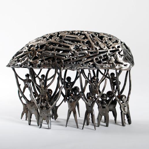contemporary metal art sculptures