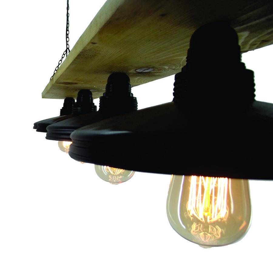 Φωτιστικό οροφής κρεμαστό vinage industrial