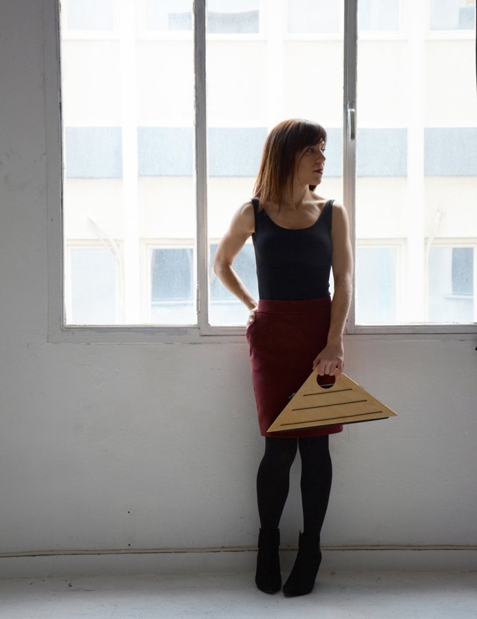 WOODEN PURSE GIFT FOR HER
