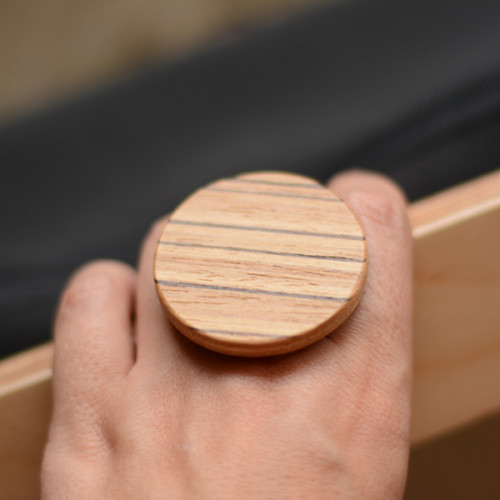 handmade wooden ring