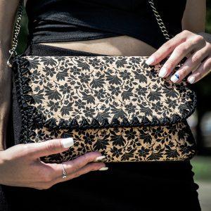Γυναικεία χειροποίητη τσάντα από φελλό