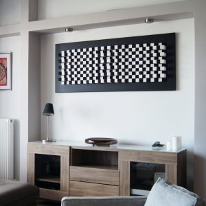 Wall art acoustic sound panel