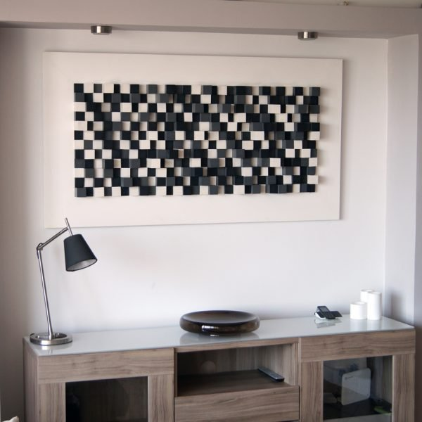 Wood sound diffuser