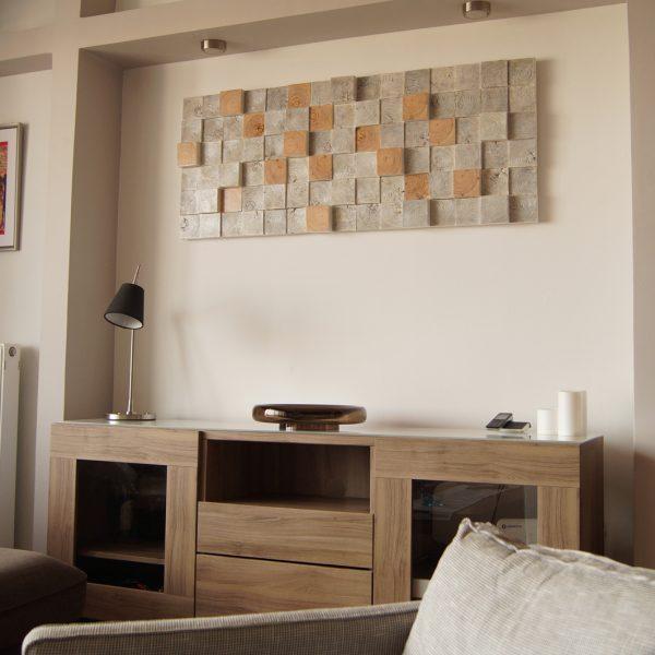 Sound diffuser panel
