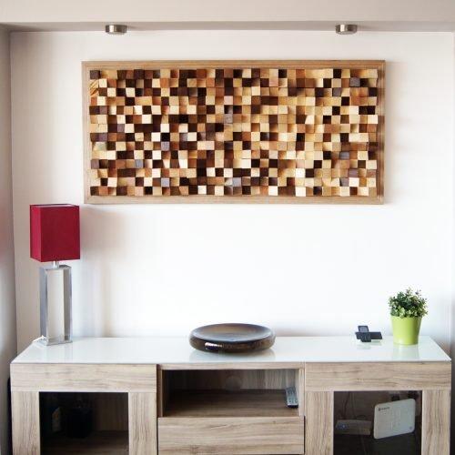 Acoustic panel wall art
