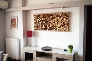 Acoustic panel wall art