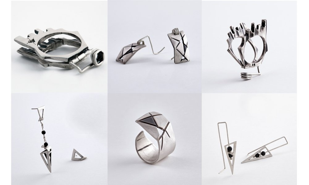 Contemporary jewelry made in Greece