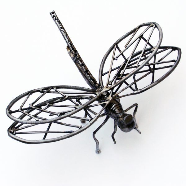 dragonfly art sculpture