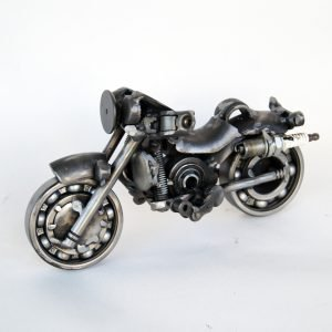 motorcycle sculpture art