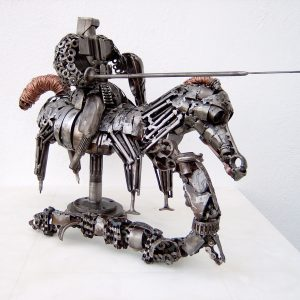 Game of thrones art sculpture