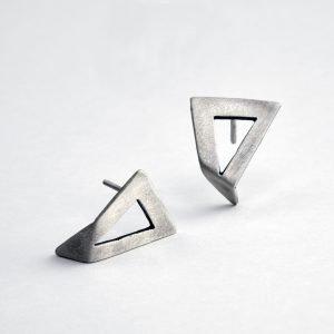 Σκουλαρίκια γυναικεία ασημένια