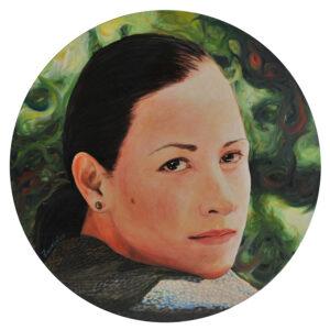 Portait oil painting