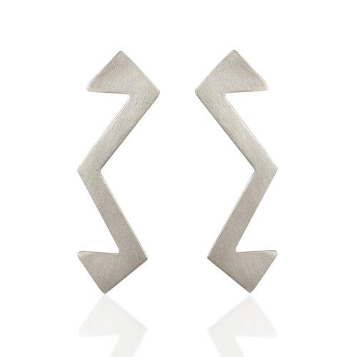 Statement stud earrings