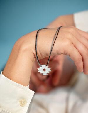 unique sterling silver pendant